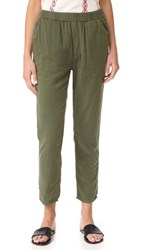 Mother Quickie Trainer Pants Military Green
