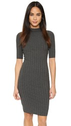 Bailey44 Grid Dress Anthracita
