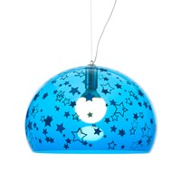 Kartell Children's Fl Y Ceiling Light Stars Blue