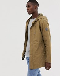 Only And Sons Lightweight Parka Green