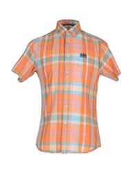 Sundek Shirts Shirts Men Orange