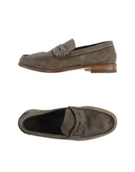 N.D.C. Made By Hand Moccasins Grey