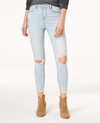 American Rag Juniors' Ripped Ankle Length Skinny Jeans Created For Macy's Jagger