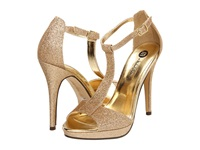 Michael Antonio Tipton Gold Glitter Women's Dress Sandals