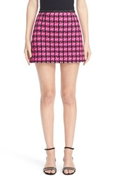 Marc Jacobs Women's Geo Tweed Miniskirt