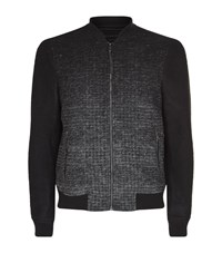 Allsaints Cade Bomber Jacket Male Black