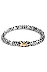 John Hardy Women's 'Dot' Gold And Silver Chain Bracelet