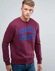 Russell Athletic Logo Sweater Red
