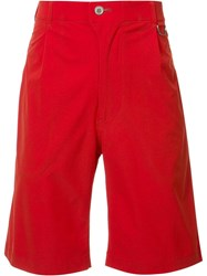 Julien David Classic Shorts Red