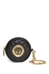 Love Moschino Quilted Wristlet Black