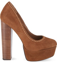 Carvela Ariel Platform Courts Tan