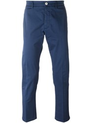 People People Chino Trousers Blue