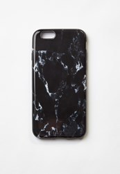 Missguided Black Marble Iphone 6 Case
