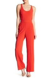 Trina Turk Golda Jumpsuit Red