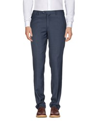 Alessandro Dell'acqua Casual Pants Slate Blue