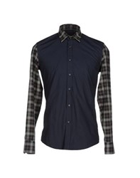 Antony Morato Shirts Shirts Men Dark Blue