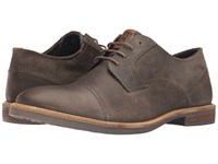 Ben Sherman Luke Distressed Taupe Men's Lace Up Casual Shoes