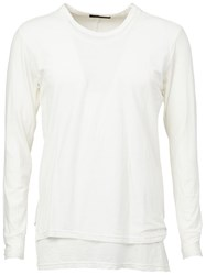 The Viridi Anne The Viridi Anne Round Neck T Shirt White