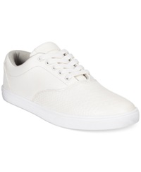 Sean John Python Print Sneakers Men's Shoes White