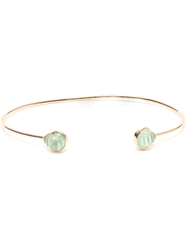 Dezso 18K Rose Gold And Chione Emerald Bracelet Green