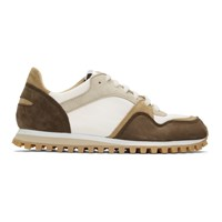 Spalwart Brown And Grey Marathon Trail Low Wbhs Sneakers