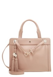 Aigner Cavl Handbag Tan Brown Taupe