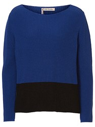 Betty Barclay Two Tone Jumper Blue