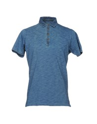 Bowery Polo Shirts Blue
