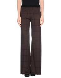 Siyu Casual Pants Dark Brown