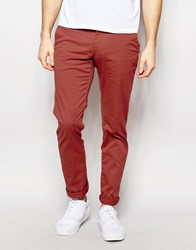 Sisley Slim Fit Chino Pink