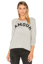 Sundry Amour Pullover Gray