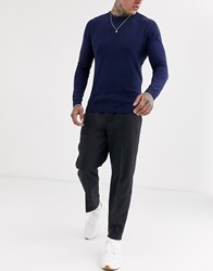 Tom Tailor Relaxed Check Jogger In Grey