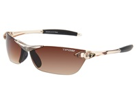 Tifosi Optics Seek Crystal Brown Brown Gradient Lens Athletic Performance Sport Sunglasses Clear