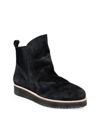 Patricia Green Charley Suede Round Toe Ankle Boots Black