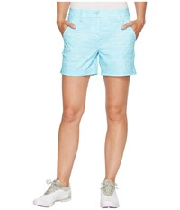 Puma Printed 5 Shorts Blue Atoll Women's Shorts