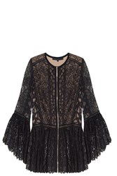 Elie Saab Lace Jacket Black