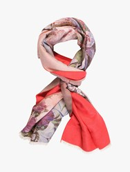 Chesca Flower Print Scarf Multi
