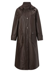 Four Seasons Waxed Coat Brown