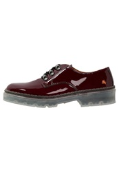Art Alpine Casual Laceups Rioja Dark Red