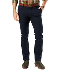 Dockers Slim Tapered Fit Cotton Blend Pants Navy