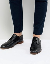 Kg By Kurt Geiger Brogues In Black Leather