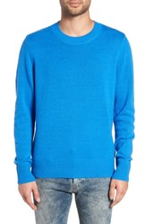 The Rail Crewneck Sweater Blue Bliss