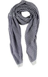Destin Mixed Gingham Scarf Multi