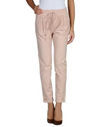 Magazzini Del Sale Casual Pants Pastel Pink