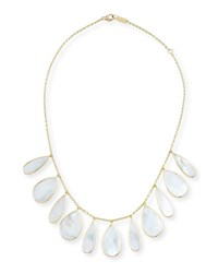 Ippolita 18K Polished Rock Candy Pear Necklace In Mother Of Pearl Oyster