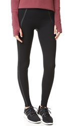 Spanx Every Wear Mesh Contour Leggings Very Black
