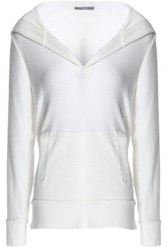 Tart Collections Knitted Hooded Top Ivory