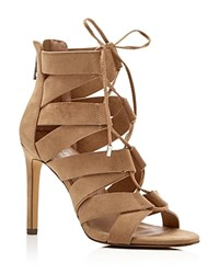 Charles By Charles David Idelwild Caged High Heel Sandals Compare At 129 Taupe