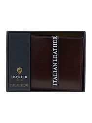Howick Italian Leather Wallet Brown
