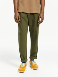 John Lewis And Co. Drawcord Ripstop Trousers Green